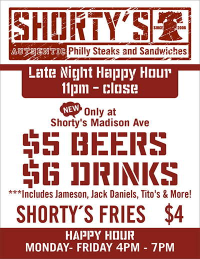 Shorty's Happy Hour